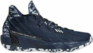 [FY0162] Adidas Dame 7 I Am My Own Fan Men's Shoes Navy Blue NEW