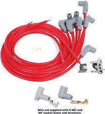 MSD 31239 Spark Plug Wire Set-Universal 8 CYL 90° PLUG, SOCKET/HEI CAP