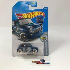 Morris Mini #137 * Blue * 2017 Hot Wheels Factory Set * WK22