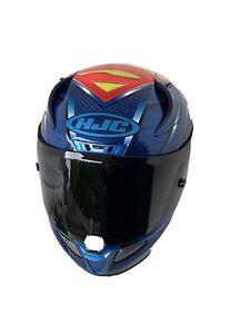 HJC RPHA 11 Superman MC21 Motorradhelm DC Comics Justice League