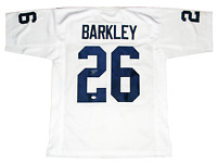 SAQUON BARKLEY AUTOGRAPHED PENN STATE NITTANY LIONS #26 WHITE JERSEY JSA