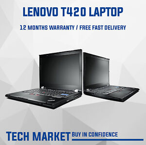 Lenovo Thinkpad T420 Core i5 2.5Ghz Windows 10 Laptop - WIFI DisplayPort eSATA