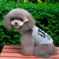 2016 Cat Small Dog Puppy Vest T-Shirt Pet Clothes Summer Apparel Costumes XL F