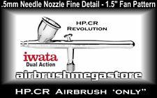 Iwata Revolution Airbrush HP.CR .5mm + Free Insured Post