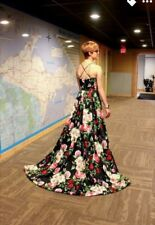 Sherri Hill, Floral Prom Dress, Size Zero