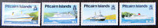 1991 Pitcairn Islands Stamps - Cruise Liners - Set of 4 MNH