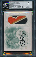 2015 Topps Dynasty Buster Posey Emerald Patch Auto BGS 9 Mint #ed 2/5 Autograph