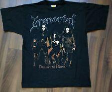 """Vintage T-Shirt IMMORTAL """" Damned in Black """"  (L)"""