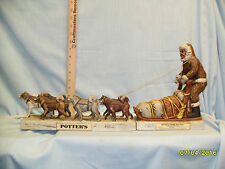 Potters 2 piece Dog Sled Decanter