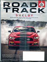 Road & Track Magazine October 2015 Mustang Shelby New 750+ EX 122915jhe2