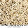 2kg HEMP SEEDS AUSTRALIAN CERTIFIED ORGANIC HULLED BULK FREE&FAST DELIVERY