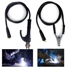 300a Welding Earth Ground Clamp Cable Stick Welder Cable For Arc Mma Dc Inverter