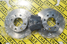 Peugeot 1007 05-09, 307 01-09, Partner MPV/Van 01-08  Rear Brake Discs And Pads