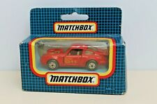 Rare Matchbox Scale 1-75 Red MB3 Porsche 911 Turbo Boxed Collectible