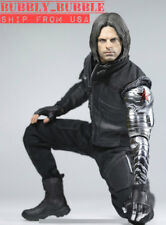 1/6 The Winter Soldier Bucky For Captain America Figure Full Set SHIP FROM USA