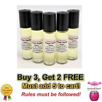 10ml French Vanilla 1/3 oz Body Oil Pure UNCUT Perfume Fragrance Body Oil