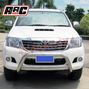 """3"""" Stainless Steel Nudge Bar to suit Toyota Hilux 2005 - 2015"""