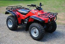 Like New 1999 Honda Fourtrax 300 4x4 TRX300FW ATV ATC