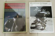 Maschinen Krieger chronicle art books vol 1 & 2   ma.k    gundam/star wars/robot
