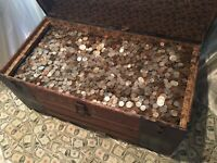 ESTATE HOARD OLD US COINS DOLLARS RARE SILVER COINS GOLD COIN COLLECTION SALE
