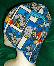 Batman Comic Strip 100% cotton, Welding, Biker, pipefitter,4 panel hat