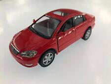 "5"" Kinsmart Toyota Corolla Diecast Model Toy Car 1:36 Red"