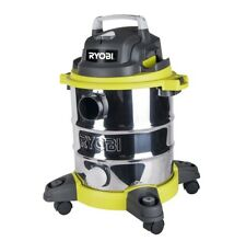 Ryobi Wet Dry Vacuum Industrial Commercial Home Work Vac 20L Stainless Steel