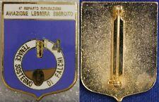 Distintivo  4° Reparto Riparazioni Aviazione Leggera Esercito con smalti #688
