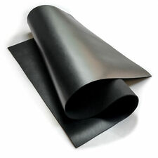 Black COW Sheets for crafts 12x12in/30x30cm genuine calf leather scrap 3oz/1.2m