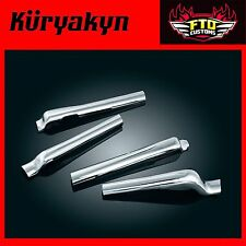 Kuryakyn Chrome Swingarm Covers for H-D '08-'17 Softail 7818