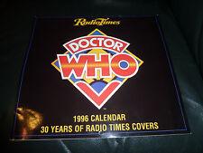 Dr Who Classic 35 Anniversary Calendar  1998 + 1996 Dr Who Radio Times Calendar