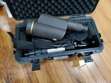 Leupold Gold Ring GR 12-40x60mm HD Spotting Scope Tripod, Cover, and Case
