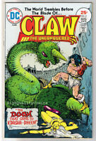 CLAW the UNCONQUERED #2, FN+, Ernie Chan, Sword, 1975, more in store
