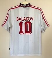 VFB STUTTGART 19971998 HOME FOOTBALL JERSEY TRIKOT SHIRT VINTAGE #10 BALAKOV