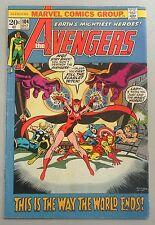Avengers (1963) #104 VG/F Stan Lee Scarlet Witch Iron Man Thor - Marvel Comics