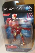 "Playmation Marvel Avengers Iron Man Blaster Disney 4.5"" Figure in Package"
