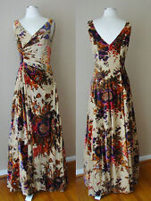 COLI COUTURE SILK BEAD SEQUIN EVENING FORMAL GOWN DRESS PAGEANT WEDDING EVENING