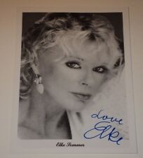 """ELKE SOMMER /  3 1/2  x  5""""  AUTOGRAPHED  PHOTO"""