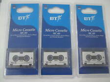 BT Micro cassettes Neuf emballé Mc 60