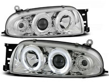 FORD FIESTA MK4 1995 1996 1997 1998 1999 FARI ANTERIORI LPFO07 ANGEL EYES