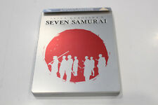 As New - Akira Kurosawa's Seven Samurai - Steelbook Bluray - Region B