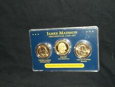 2007 Presidential gold dollar coin set James Madison (S proof) (D P uncir)
