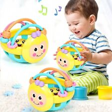 Hot 1pc Children Soft Rubber Cartoon Bee Toddler Educational Toys Interactive