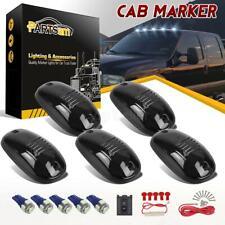 5pcs 264146BK Smoke Cab Marker Roof Lights+T10 Ice blue 5050 LED for Dodge 03-16