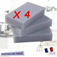 4 x éponges magiques Nettoyage Eraser détachant Pad Mélamine mousse Multi Usage