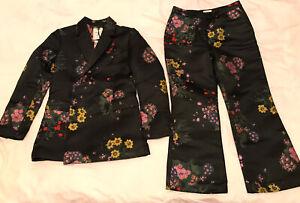 ERDEM x H&M HM Floral Suit  2 items Jacquard  Size  36  US 6 NWT