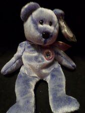 TY BEANIES PERIWINKLE INTERNET BEAR (LAST ONE AVAILABLE) VHTF RARE TEDDY BEAR