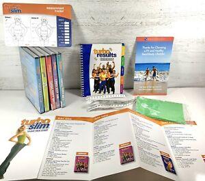 Beachbody Turbo Jam Huge Lot 5 DVD Turbo Slim Kick Start Result Guidebook Band
