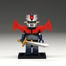 CUSTOM Lego Mazinger Z Minifigure Gundam Military Figure Ninjago Minifigures Toy