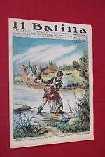 rivista a fumetti IL BALILLA Supplemento Popolo d'Italia ANNO XIV N.43 (1936)